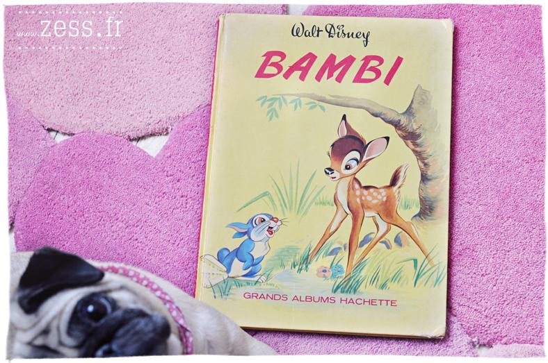 vide grenier brocante chine jouet bambi walt disney rétro livre bouquin