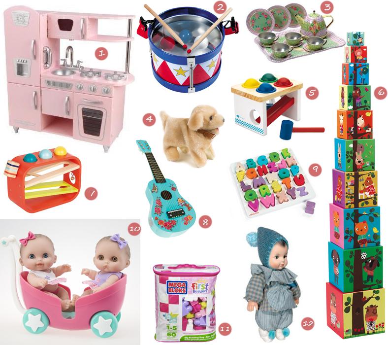 sélection shopping noel bébé 18mois fille