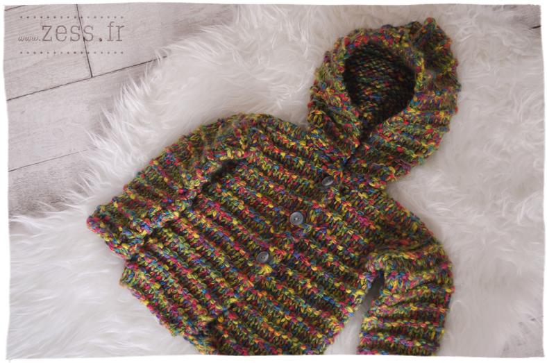 vide grenier chine trouvaille gilet tricoté